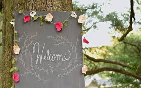 customizable felt floral garland flower wedding garland