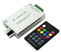 music led strip lights rf music rgb led controller with 18 keys remote controller music