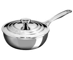 Stainless Stee Stainless Steel Saucier Pan Le Creuset