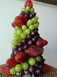 easy fruit topiary great edible centerpiece for a party use