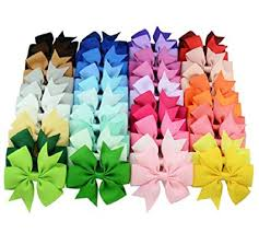 3 inch grosgrain ribbon 40pcs 3 inch grosgrain ribbon child hair bows in