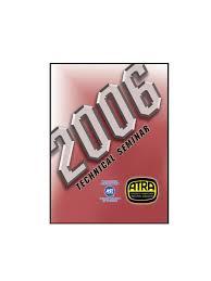 atra seminar manual 2006 pdf pontiac chevrolet