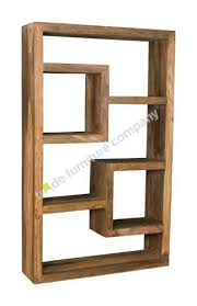 Cube Bookcase Wood Bookcase Solid Wood Cube Storage Stepped Cube Bookcase Solid