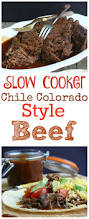 slow cooker chile colorado style beef noble pig