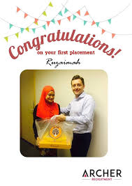 congratulation poster congratulations on your placement archer recruitment