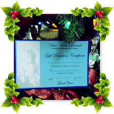 house gift vitas house gift donation certificate