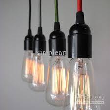 discount wholesale industrial color braided light edison l