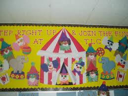 circus theme bulletin board bulletin boards and door decor