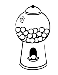 bubble gum machine coloring page coloring pages ideas u0026 reviews