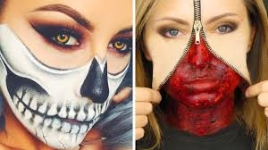 top 17 diy halloween makeup tutorials compilation 2017 part 2