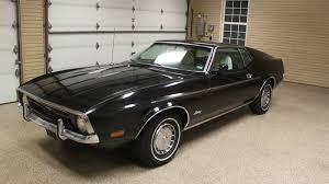 Black Ford Mustang Black Beauty 1971 Ford Mustang Sportsroof Survivor