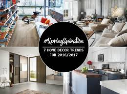 Home Trends 2017 Springspiration 7 Home Decor Trends For 2016 2017 Lansdowne Boards
