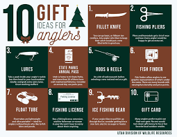 utah division of wildlife resources 10 gift ideas for anglers