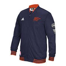halloween superstore oklahoma city adidas oklahoma city thunder on court warm up jacket