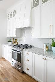 what hardware for white kitchen cabinets white kitchen cabinets with chagne gold hardware