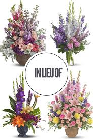 florist houston what does in lieu of should i still send flowers sympathy
