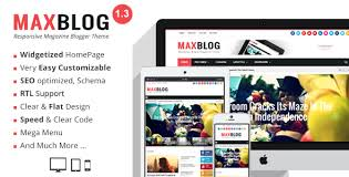 templates v1 blogger maxblog responsive magazine blogger template by mytemplateslab