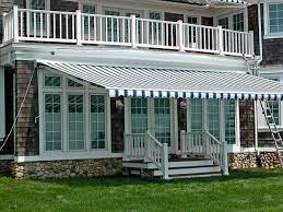 White Awning Retractable Awnings For Your Home Or Store