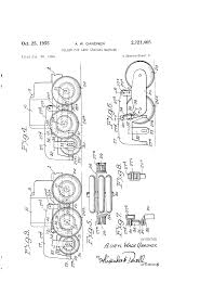 patent us2721405 roller for land grading machine google patents