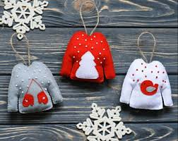 wool felt ornaments etsy