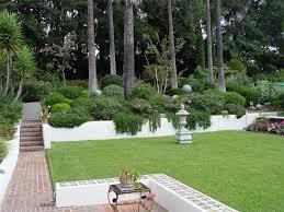 Slope Landscaping Ideas For Backyards Backyard Slope Maureen Gilmer Morongo Valley Ca Garden Slope