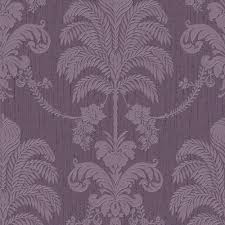 Purple Damask Wallpaper by Graham U0026 Brown Damask Pattern Floral Glitter Motif Wallpaper 32 953