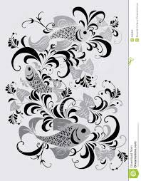 gray fish ornament royalty free stock image image 3992806