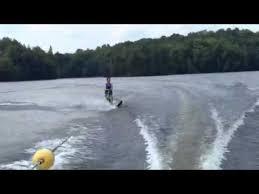 Eels Lake Cottage Rental by Waterskiing On Eels Lake Youtube