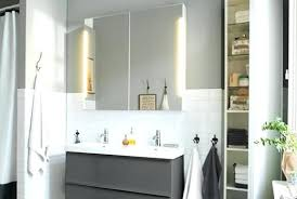 Bathroom Cabinets With Lights Ikea Ikea Bathroom Mirrors Ezpass Club
