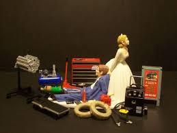 mechanic wedding cake topper 54 best wedding cake topper images on wedding cake