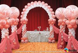 wedding arch balloons arches diddams party store