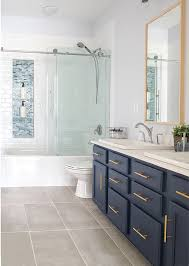 Guest Bathroom Designs Modern Classic Guest Bathroom Makeover Reveal Craving Some