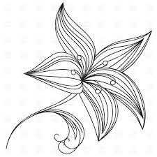 28 flower outline drawings simple flower outline clip art