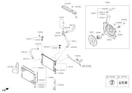 hyundai accent parts catalog engine cooling system for 2016 hyundai accent hyundai parts deal