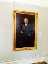 new portrait on display at the dawes house evanston history center