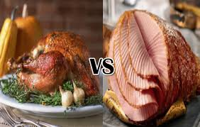 turkey vs ham what s on your thanksgiving table