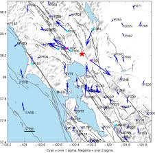 Unr Map Ngl Low Latency Earthquake Geodesy