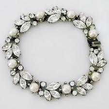 wedding bracelet pearl images Wedding jewelry pearl crystal designer bridal evening jewelry jpg