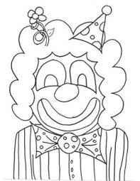 clown hats colouring pages free printable coloring pages kids
