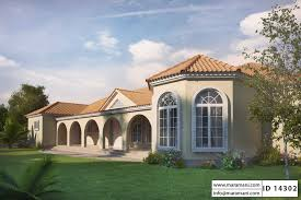 mediterranean house plans with porte cochere
