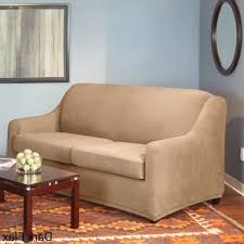 Sure Fit 3 Piece Sofa Slipcover by Living Room Sure Fit Sleeper Sofa Slipcover In Stretch Pearson
