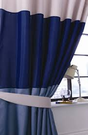 navy blue and white striped curtains blue beige u0026 white striped