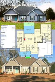 plan 69582am beautiful northwest ranch home plan square feet