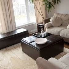 Coffee Table Or Ottoman - coffee table with four ottomans foter