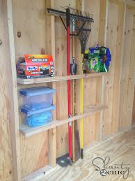 How To Build A Simple Storage Shed by Shed Organization Idea Shanty 2 Chic