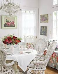 Best Shabby Chic Dining Images On Pinterest Live Shabby - Chic dining room ideas