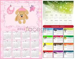 cute calendar templates vector u2013 over millions vectors stock