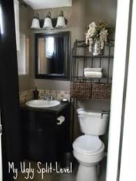 bathroom decorating ideas on a budget my split level on how home was renovated on a