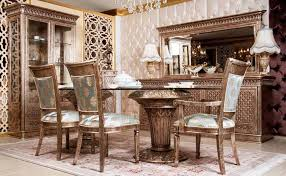 Classic Dining Room Nara Classic Dining Room Set Luxury Dining Room Sets