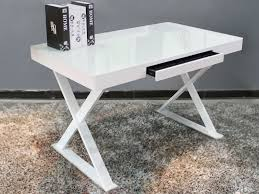white desk with glass top large home office furniture eyyc17 com